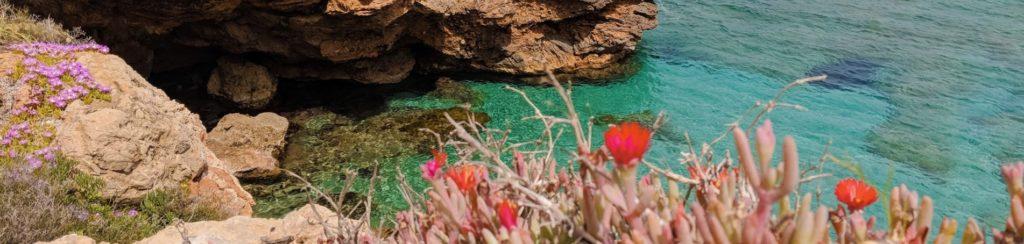 Yoga doen op Ibiza